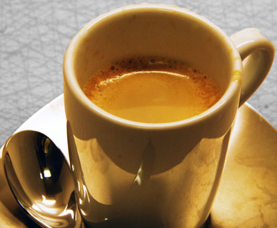 A nice cup of espresso to enjoy