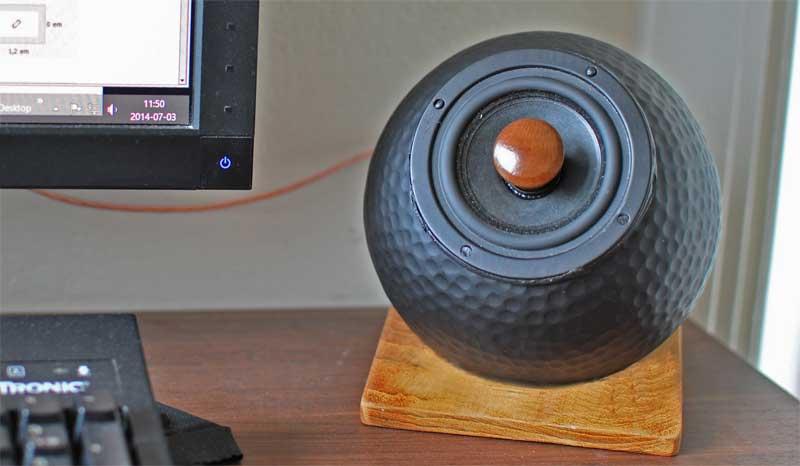 Cheap And Good Looking Diy Desktop Loudspeakers By