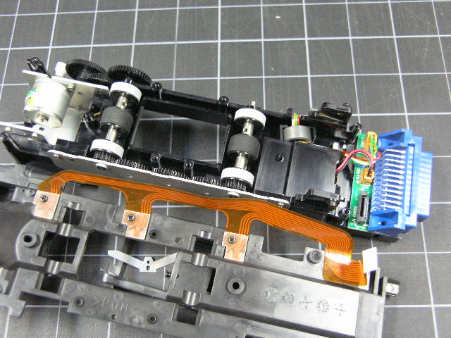 Converting Nikon SA-21 to SA-30 Roll Feeder instructions with images