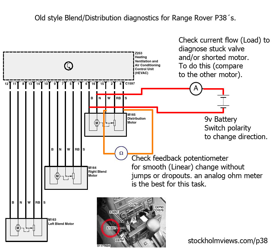 Range rover p 38 wiring diagram on 2006 range rover sport fuse box