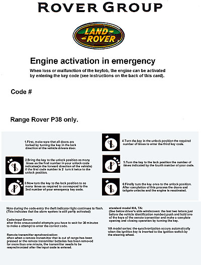 Range Rover P38 Maintenance repair improvements and tips learned by