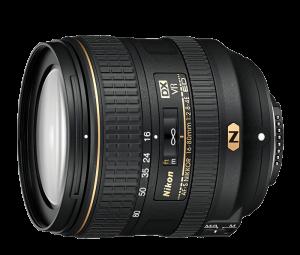 NIKON AF-S DX NIKKOR 16-80MM F/2.8-4E ED VR lensl