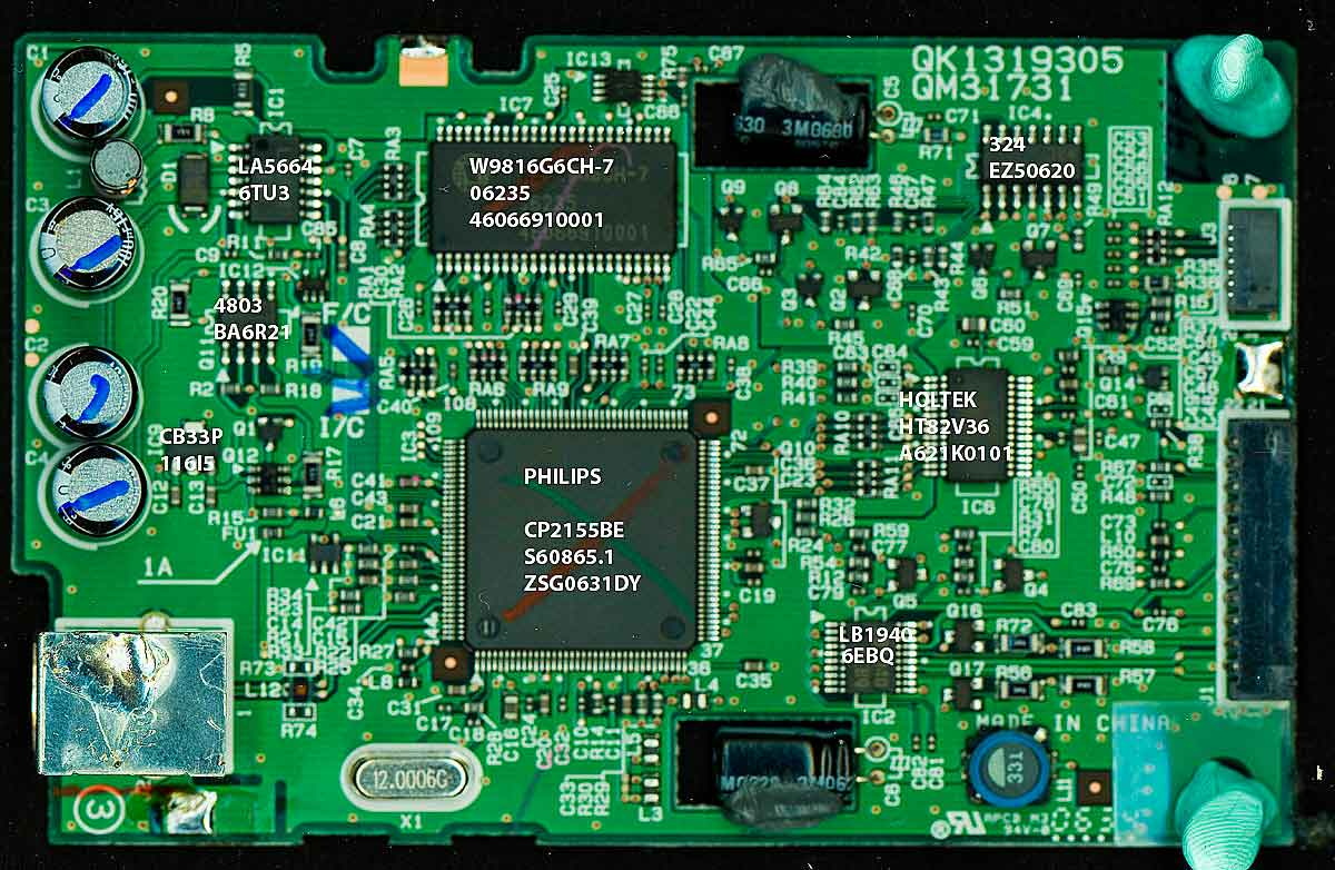 Canon Lide 70 Usb Chip And Circuit Board Lide70