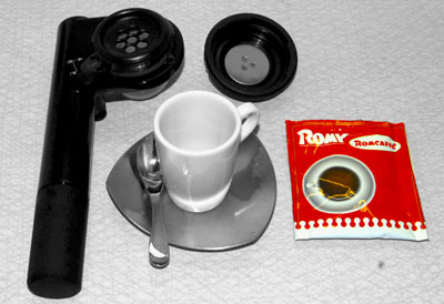 Handpresso coffee maker