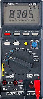 Voltcraft M-3850 Manual