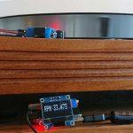 Linn LP12 with DIY tachometer