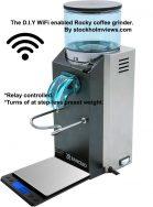 WIFI enabled coffee grinder