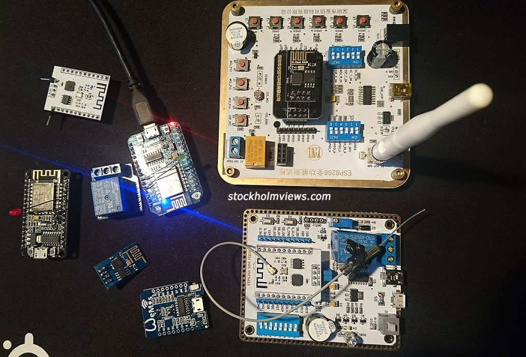 ESP8266 in various shapes
